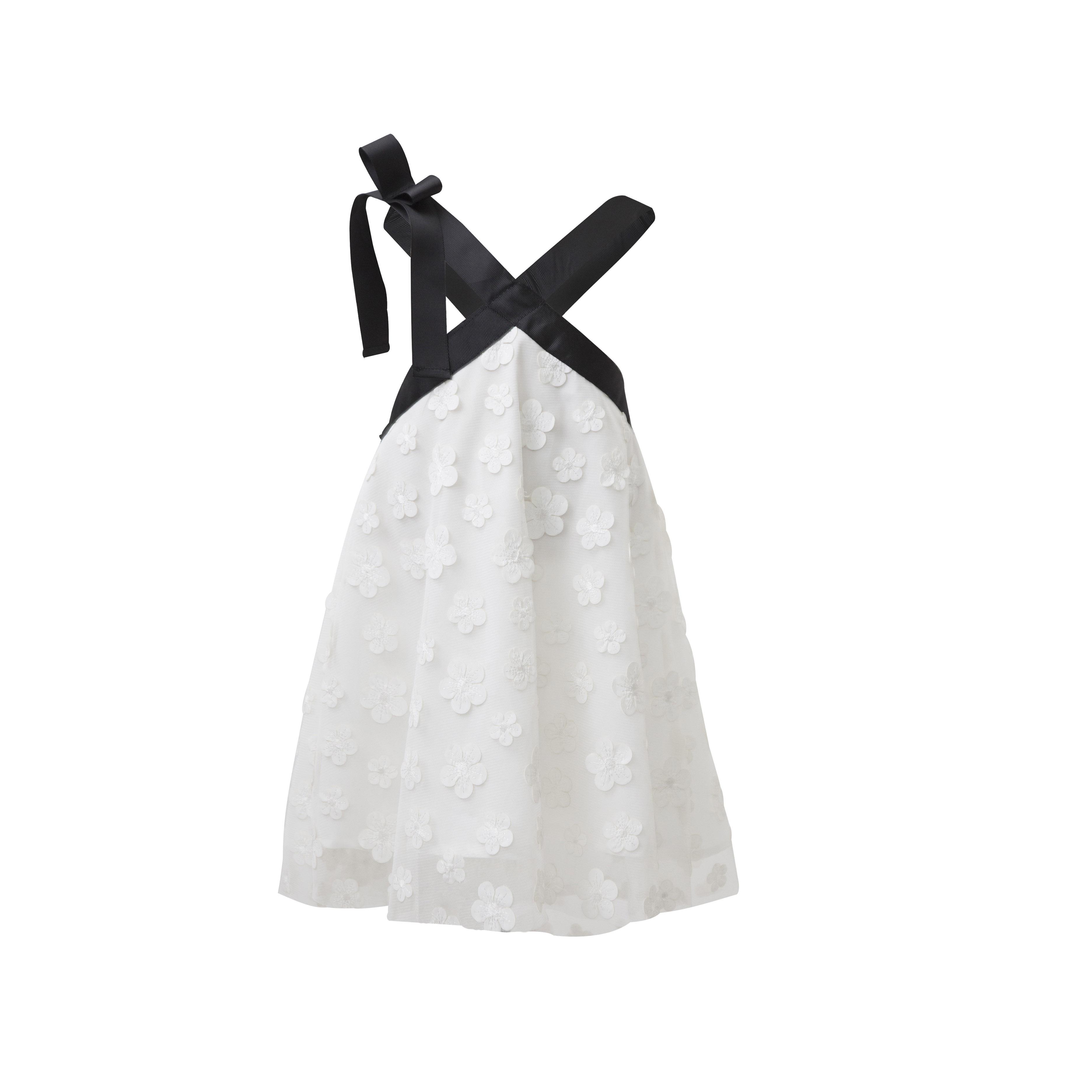 dd7721693a11 Φόρεμα λευκό με μαργαρίτες και τούλι | Baby Love Kalamata